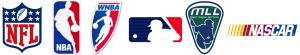 NFL, NBA, WNBA, MLB, MLL & NASCAR