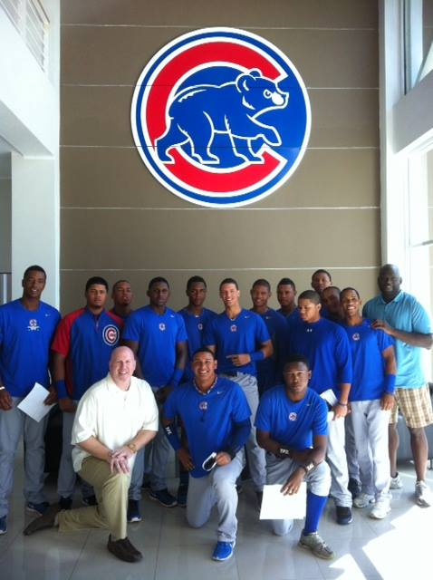 Cubs Dominican Academy 2013