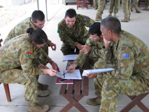 Group Work at Lavarack Barracks